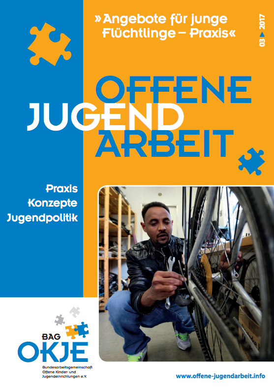 """03/2017: Aktuelle Ausgabe der Zeitschrift """"Offene Jugendarbeit"""""""